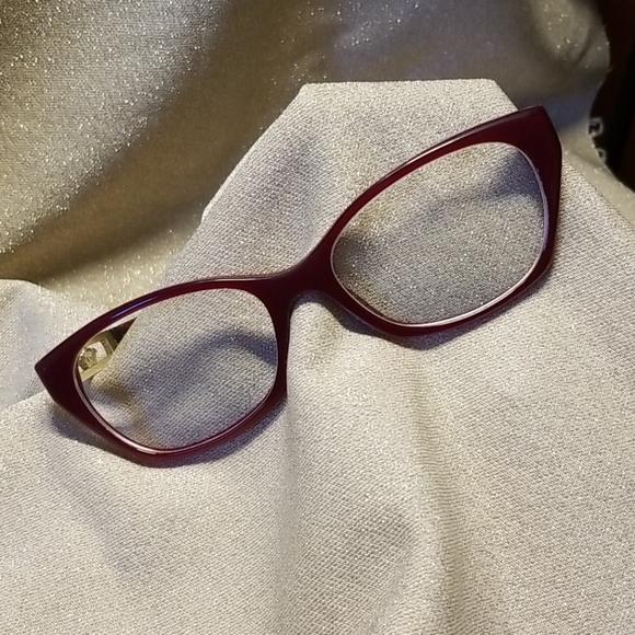 Versace Accessories - Versace Prescription Eyeglasses Red Frames